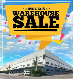 MSI-ECS Warehouse Sale 2016; Get Up To 80% Discount On Selected Items