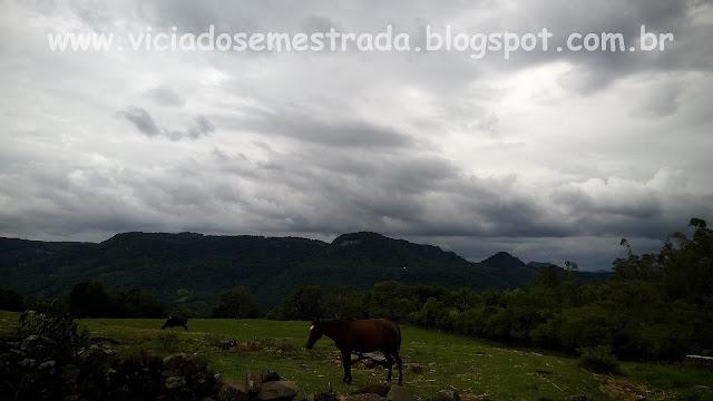 Paisagem rural no interior de Nova Petrópolis, Serra Gaúcha