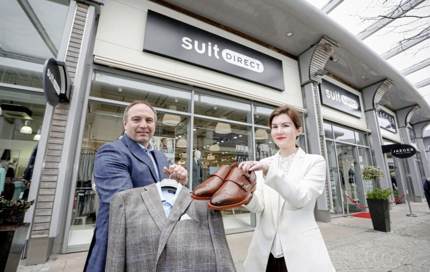 Men's fashion chain Suit Direct opens first store in the north in Banbridge