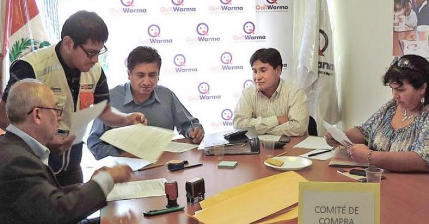 QALI WARMA: Integrantes de Comités de Compras presentaron declaración jurada de intereses para transparencia en proceso de selección de proveedores - www.qaliwarma.gob.pe