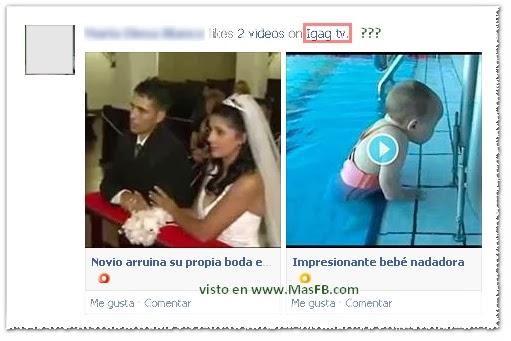 VideoSPIN SPAM en Facebook