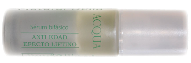 serum bifásico natural con ácido hialurónico