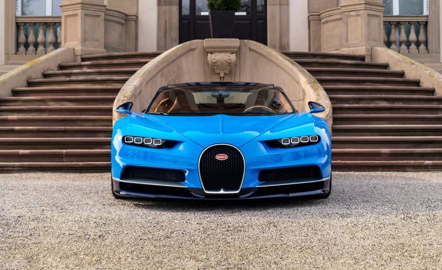 Bugatti Chiron đang là siêu phẩm gây sốt nhất và được mong chờ nhất thế giới hiện tại