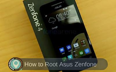 Cara Cara Mudah dan Aman Root Asus Zenfone 4 A400CG/A450CG
