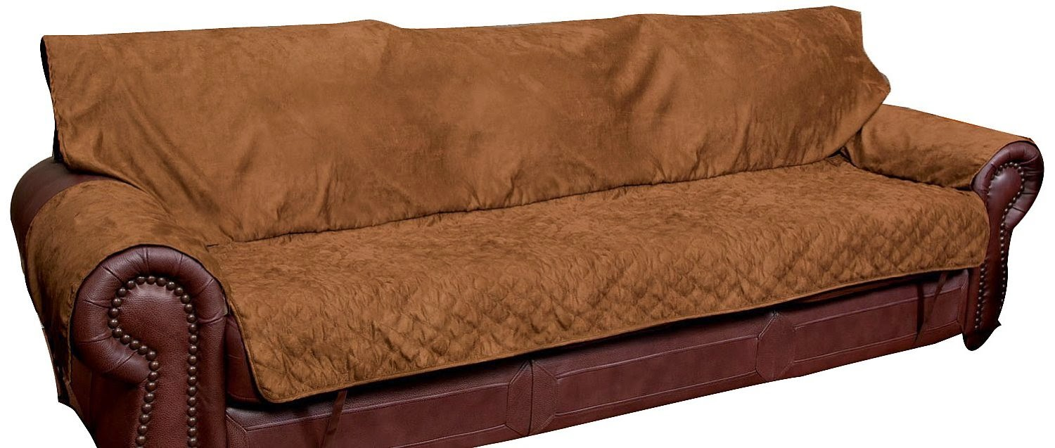 Cocoa Solvit Sofa Full Coverage Couch Seat Cushion Covers