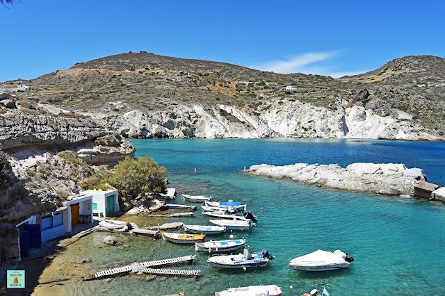 Mandrakia, isla de Milos (Grecia)