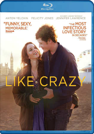 Like Crazy 2011 BRRip 300Mb Hindi Dual Audio 480p ESub Watch Online Full Movie Download bolly4u