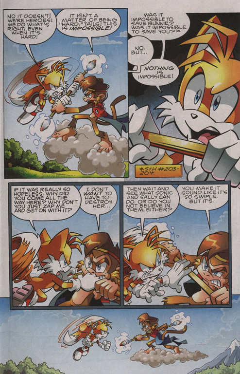 Read online Sonic The Hedgehog comic -  Issue #209 - 16