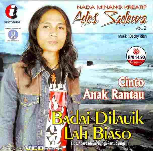 Lyrics Lagu Ades Sadewa - Tangih Anak Suayan