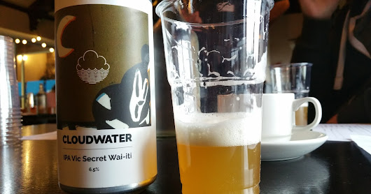 Cloudwater IPA - Vic Secret Wai-Iti & Tempest Brewing Red Eye Flight