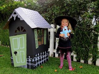 casa para halloween
