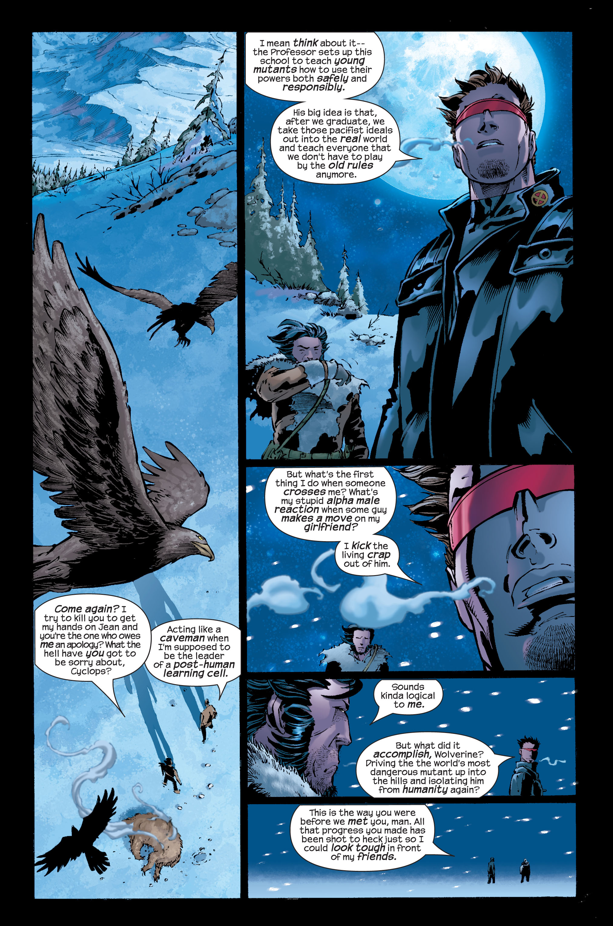 Read online Ultimate X-Men comic -  Issue #33 - 17