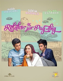 Relaks, Its Just Pag-ibig is a 2014 Filipino romantic comedy film starring Iñigo Pascual, Julian Estrada, and Sofia Andres.