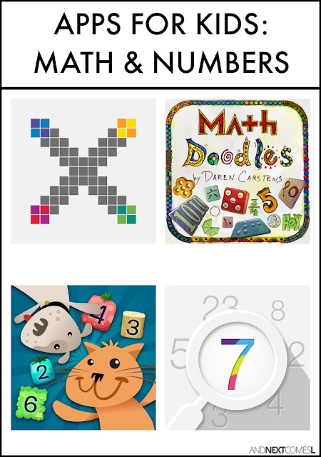 Math apps for kids from And Next Comes L