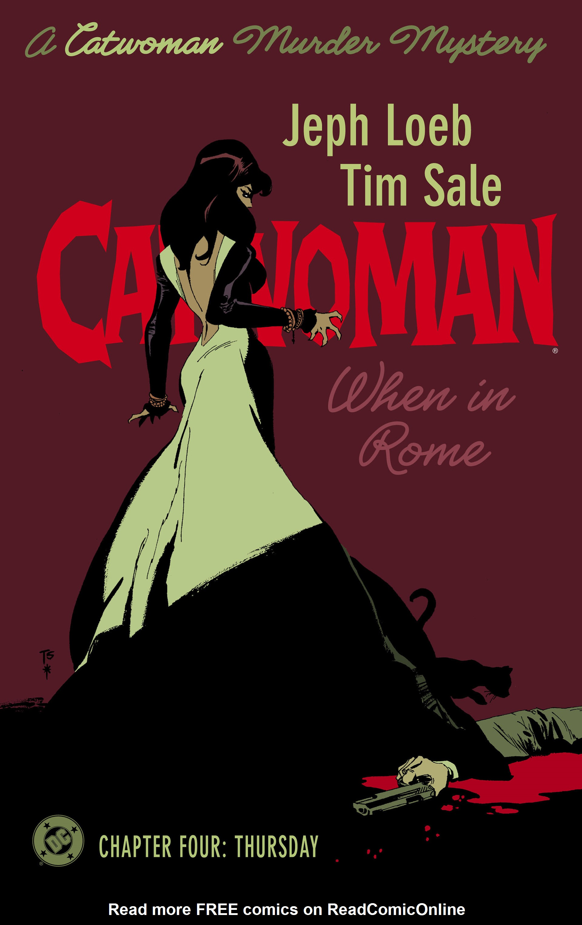 Catwoman: When in Rome 4 Page 1