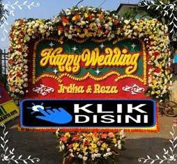 bunga happy wedding jakarta timur