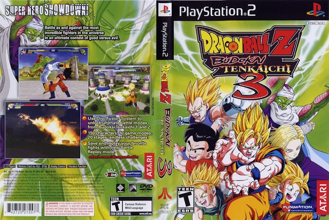 Download Dragon Ball Z : Budokai Tenkaichi 3 PS2 emulator PCSX2 zona-games.com