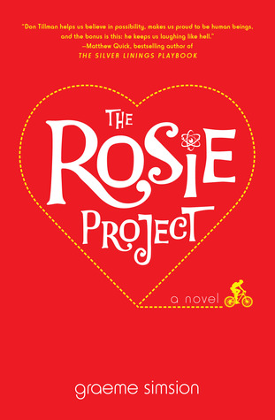 Book cover for Graeme Simsion's The Rosie Project in the South Manchester, Chorlton, and Didsbury book group