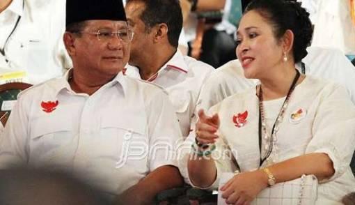 Ketika Pujian Prabowo Meluluhkan Mantan Istri di Gala Dinner