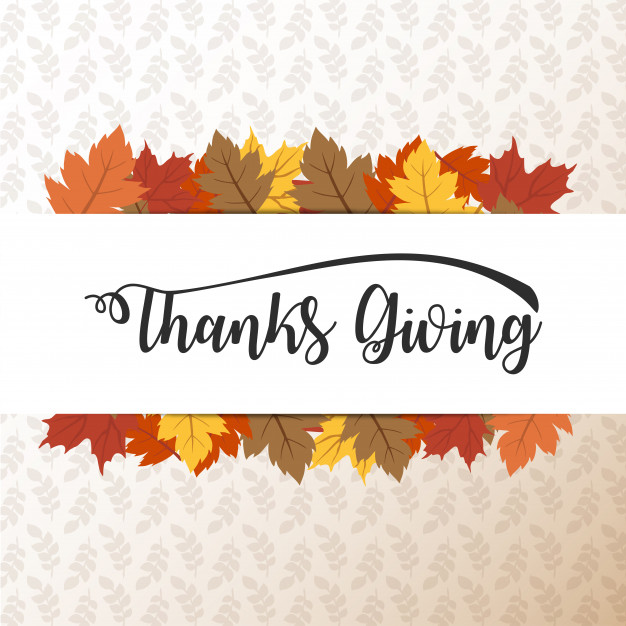 Happy Thanksgiving card, background, poster Free Vector