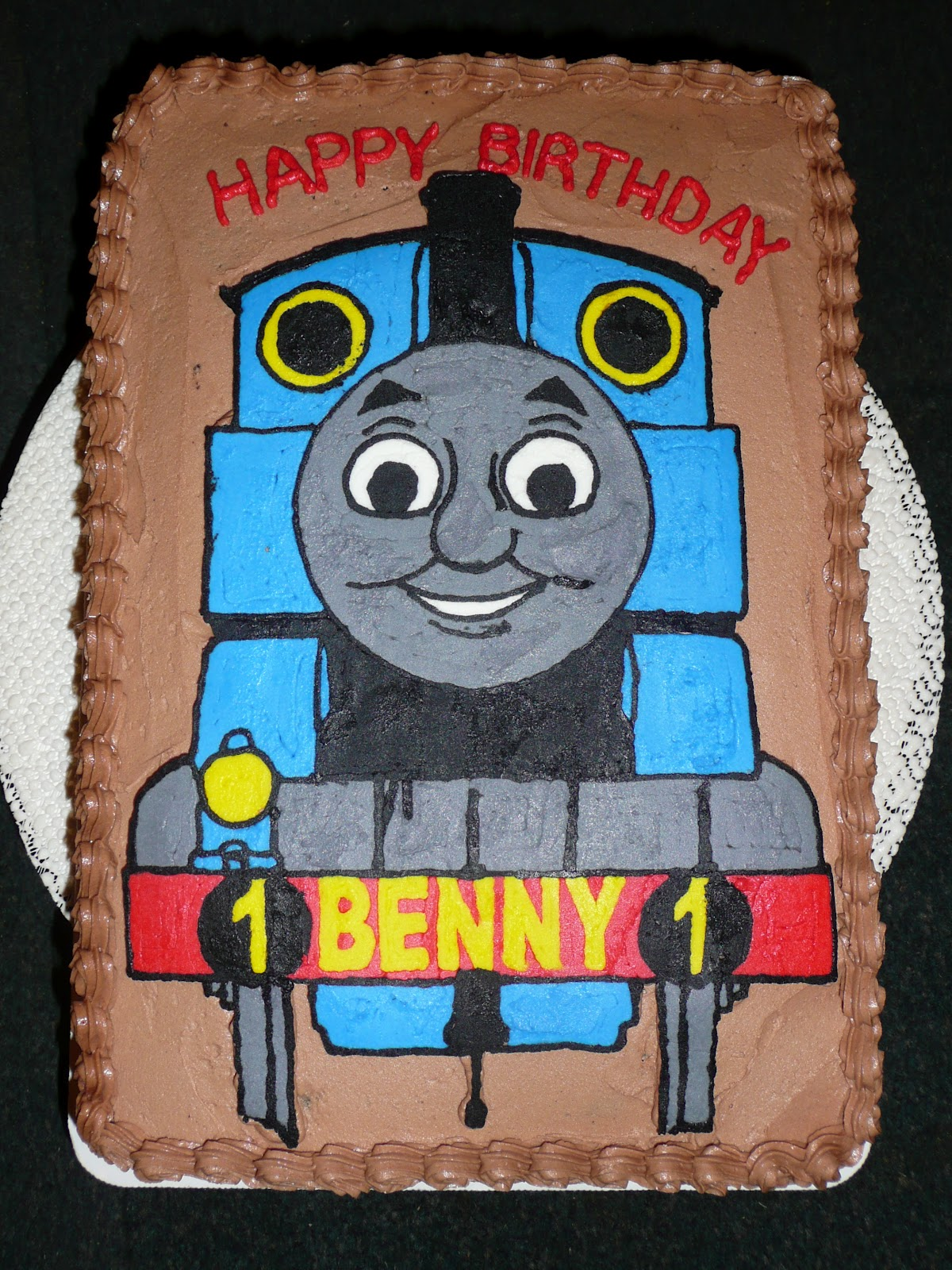 Desserts By Robin Thomas The Train Cake