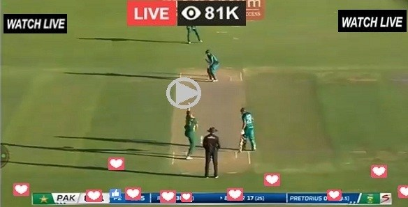 Pakistan vs South Africa live cricket