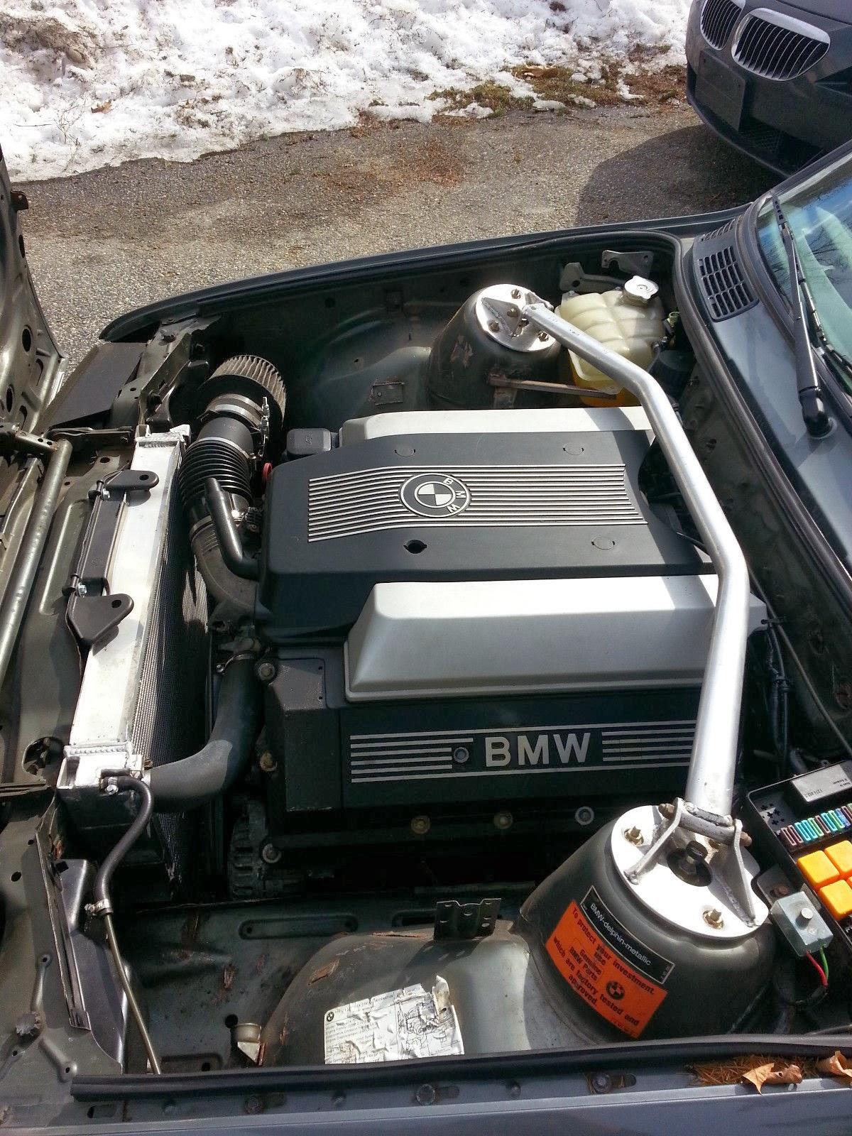 Daily Turismo: 10k: M60 V8 Swap: 1986 BMW E30 325ES