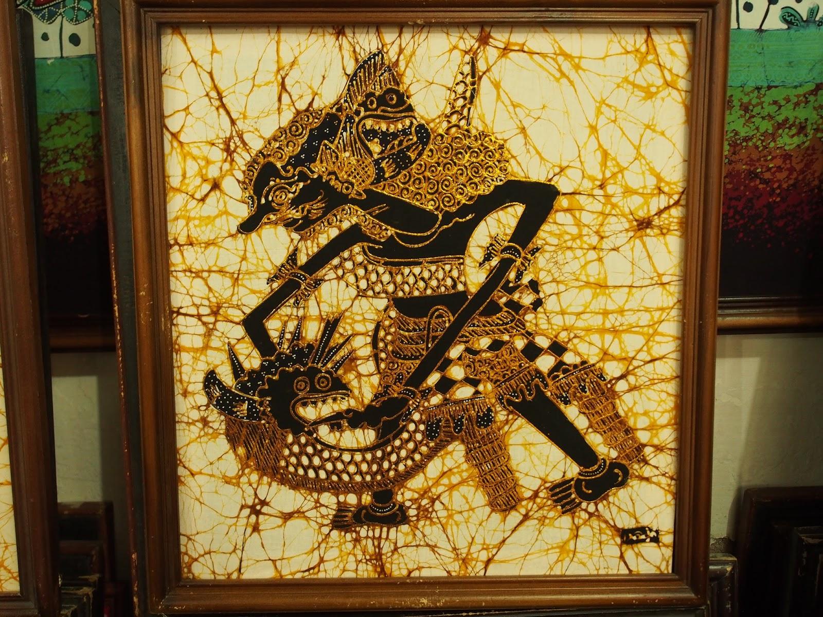 Batik Art and Painting @ Hery\'s | Memoirs of a Traveller