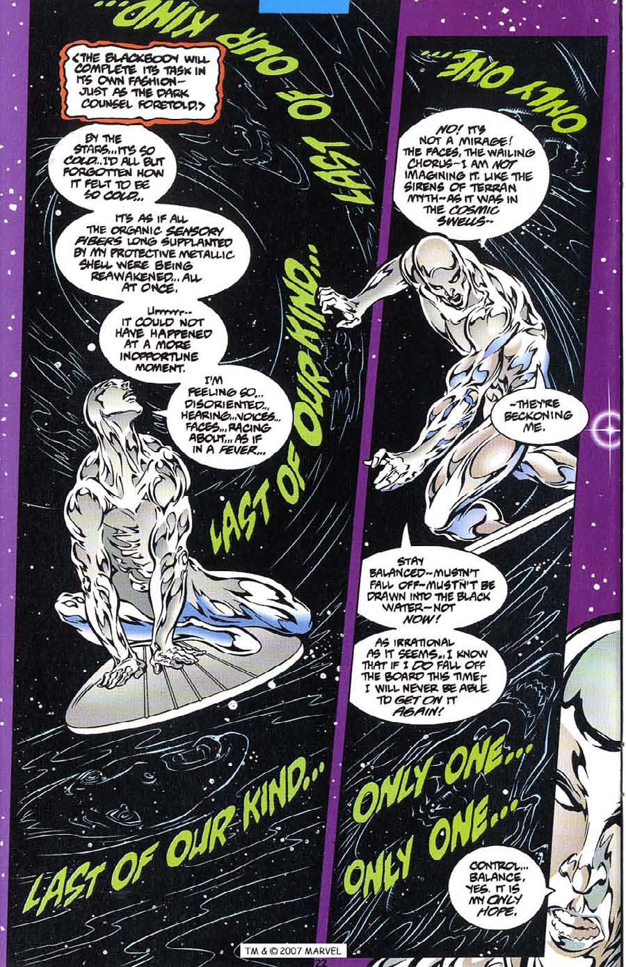 Silver Surfer (1987) Issue #113 #121 - English 24