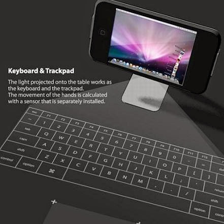 projection keyboard for iphone Culture updated celluon virtual laser keyboard just 'clicks' celluon cube laser virtual keyboard makes a cool idea cooler by adding gesture-sensitive sounds to add clicks to keystrokes.