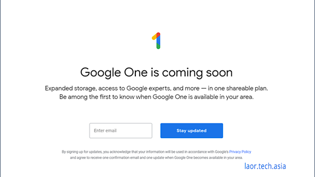 google one storage service - laortech
