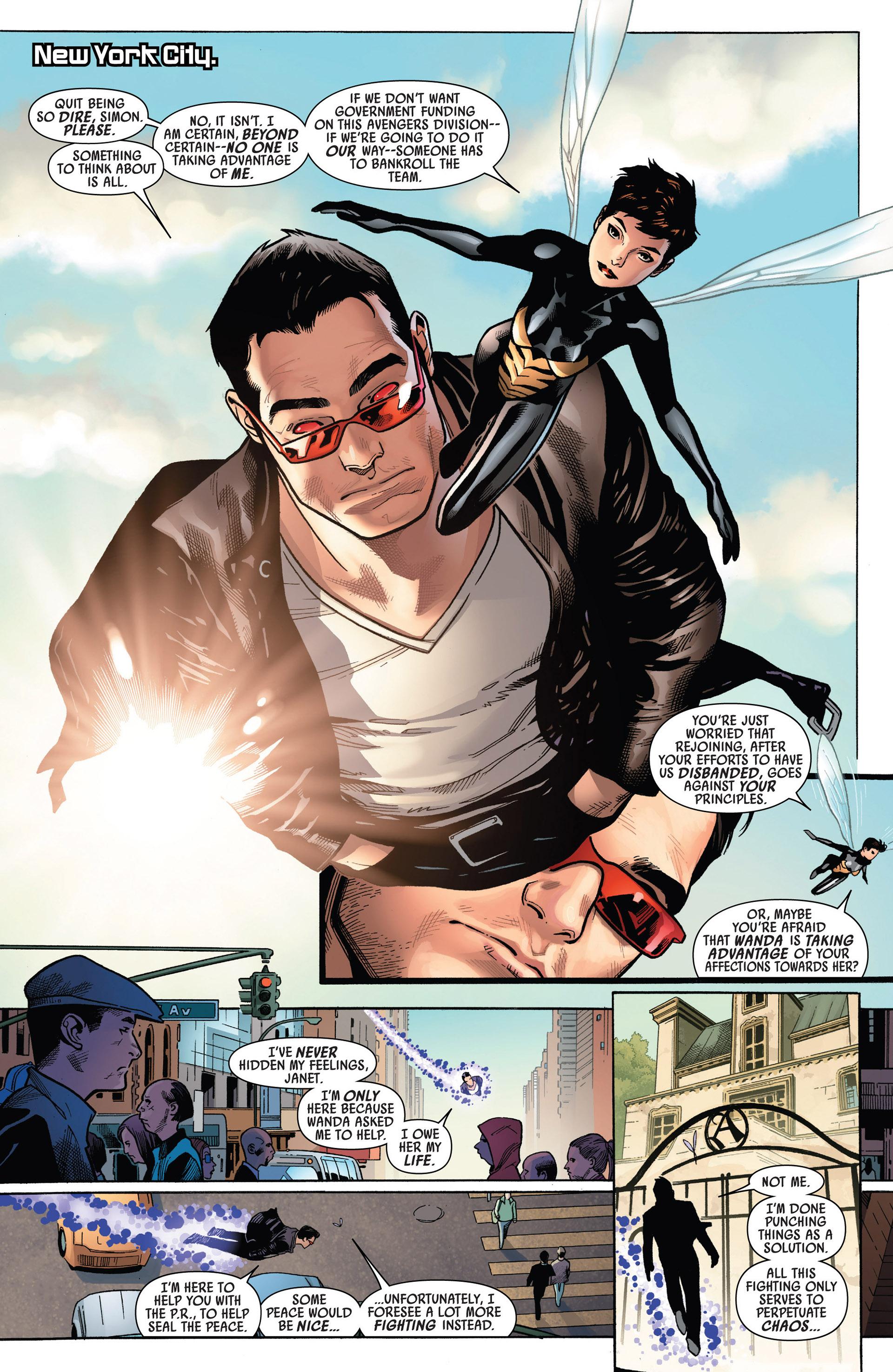Read online Uncanny Avengers (2012) comic -  Issue #5 - 6