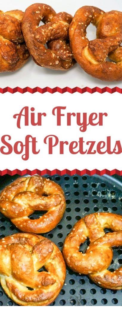 Air Fryer Soft Pretzels