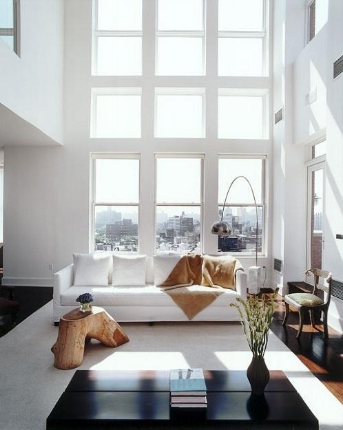 I De A High Ceiling Living Room