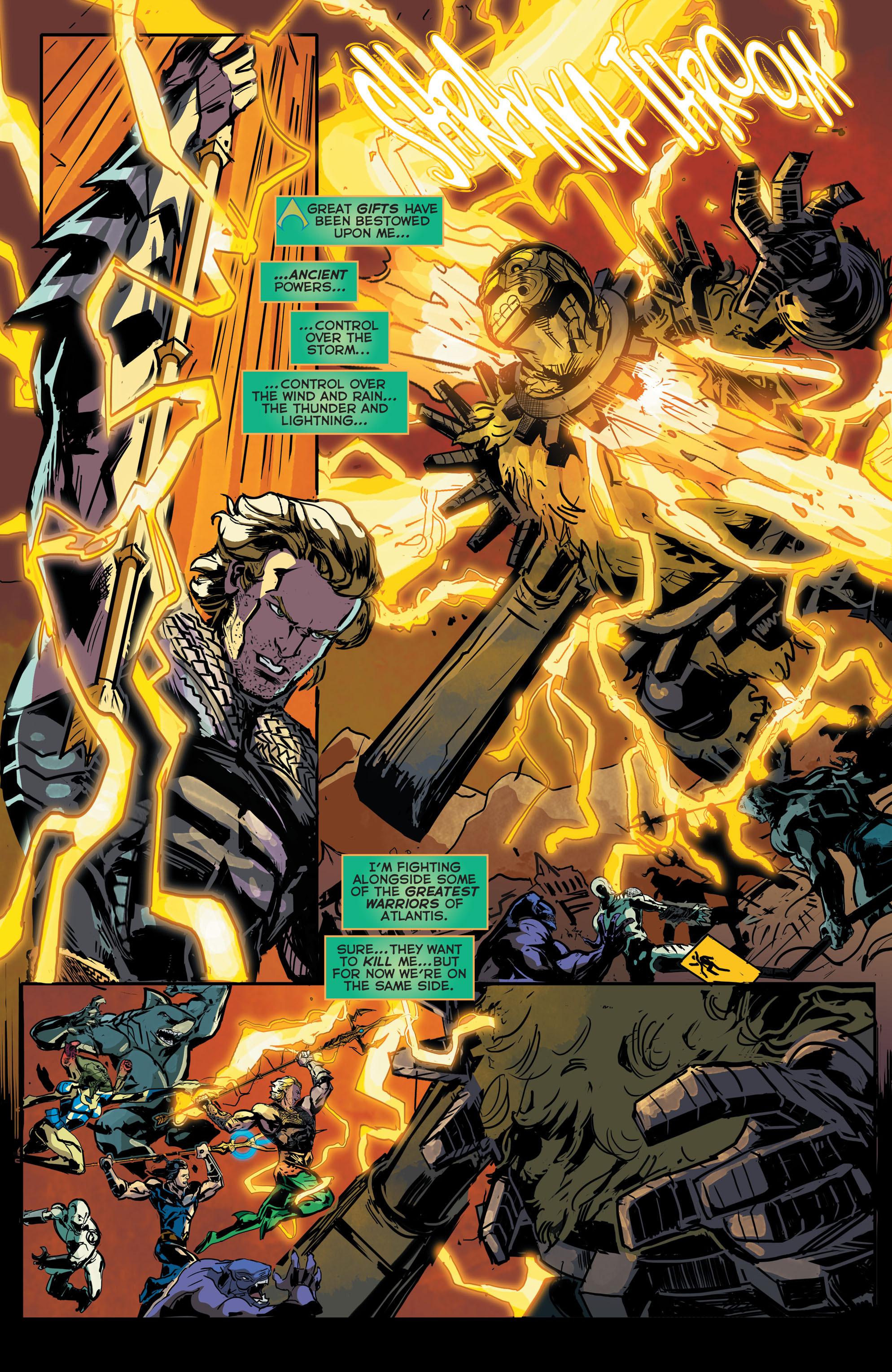 Read online Aquaman (2011) comic -  Issue #43 - 11