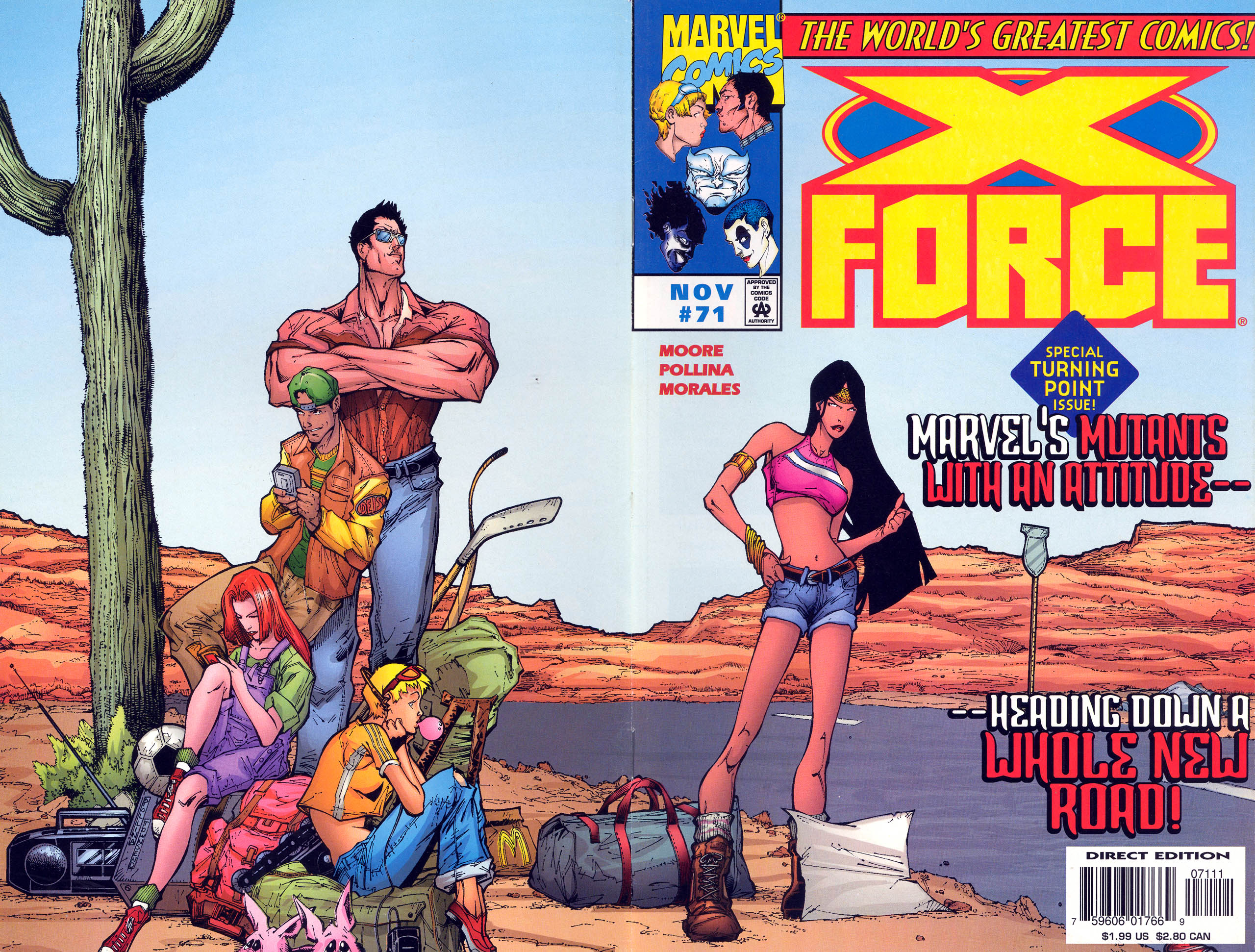 Read online X-Force (1991) comic -  Issue #71 - 1