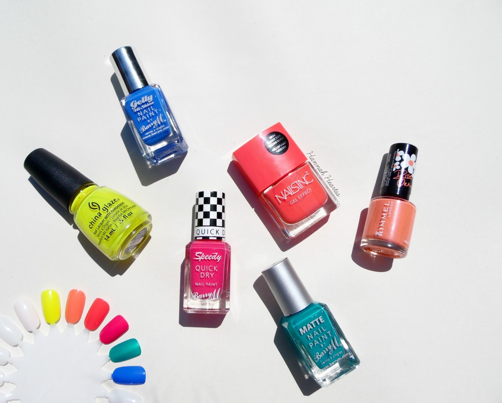 Bright Summer Nail Polish Picks