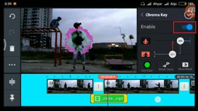 Cara Edit Efek Teleportasi Menggunakan Kinemaster Pro