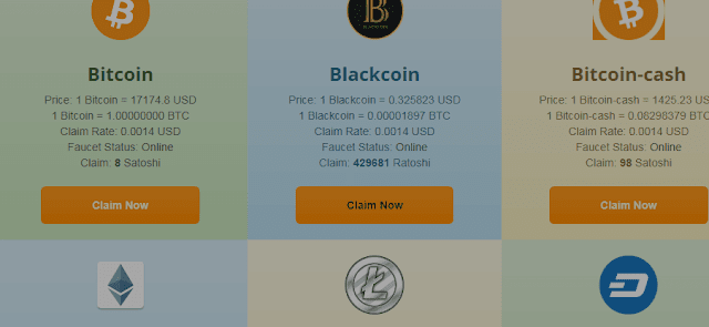 موقع wapserv لربح مختلف العملات الرقمية والسحب مباشر علي faucethub