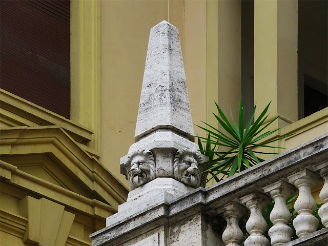 Obelisk, Palazzo San Sebastiano, Largo del Duomo, Livorno