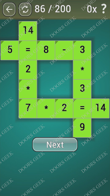 Math Games [Beginner] Level 86 answers, cheats, solution, walkthrough for android