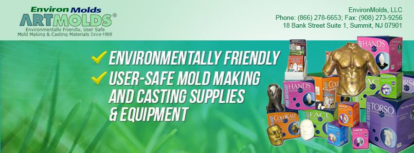Mold making and Casting products through EnvironMolds, LLC: Mold