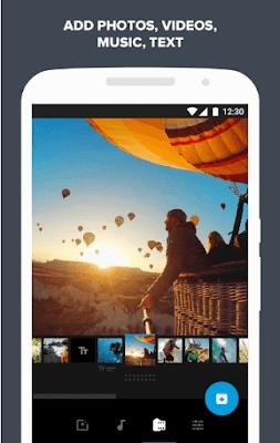 Quik -  Video Editor Gratis untuk foto, klip, musik