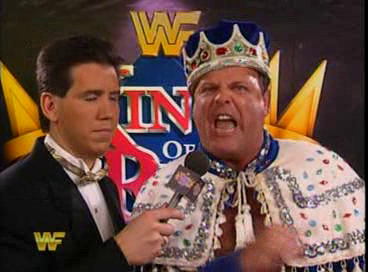 WWF / WWE - King of the Ring 1994: Jerry Lawler rants about his opponent Roddy Piper