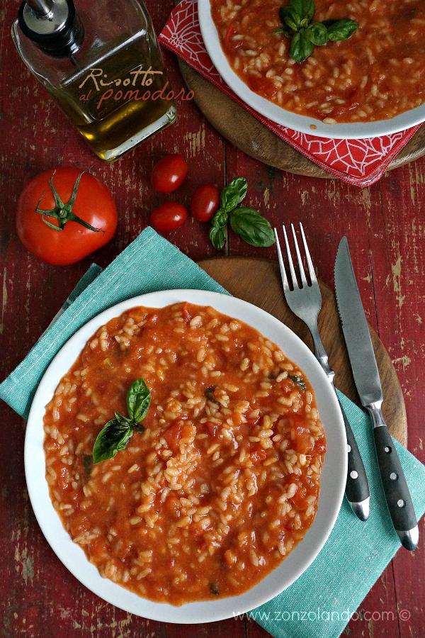 Risotto al pomodoro cremoso e saporito ricetta tomato risotto creamy and tasty recipe per celiaci vegetariana veggie
