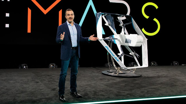 "Only ""months away"" drone delivery, Amazon says."