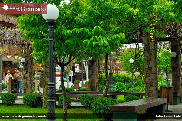 Praça Major Nicoletti - Gramado/RS