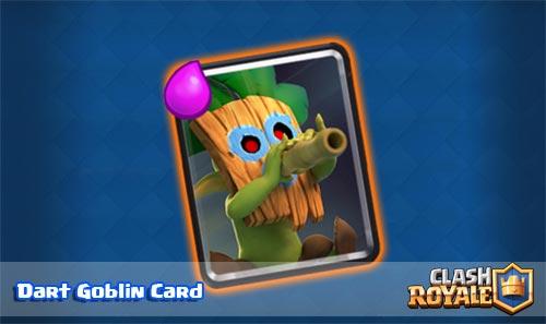 Ringkasan Strategi Kartu Dart Goblin Clash Royale