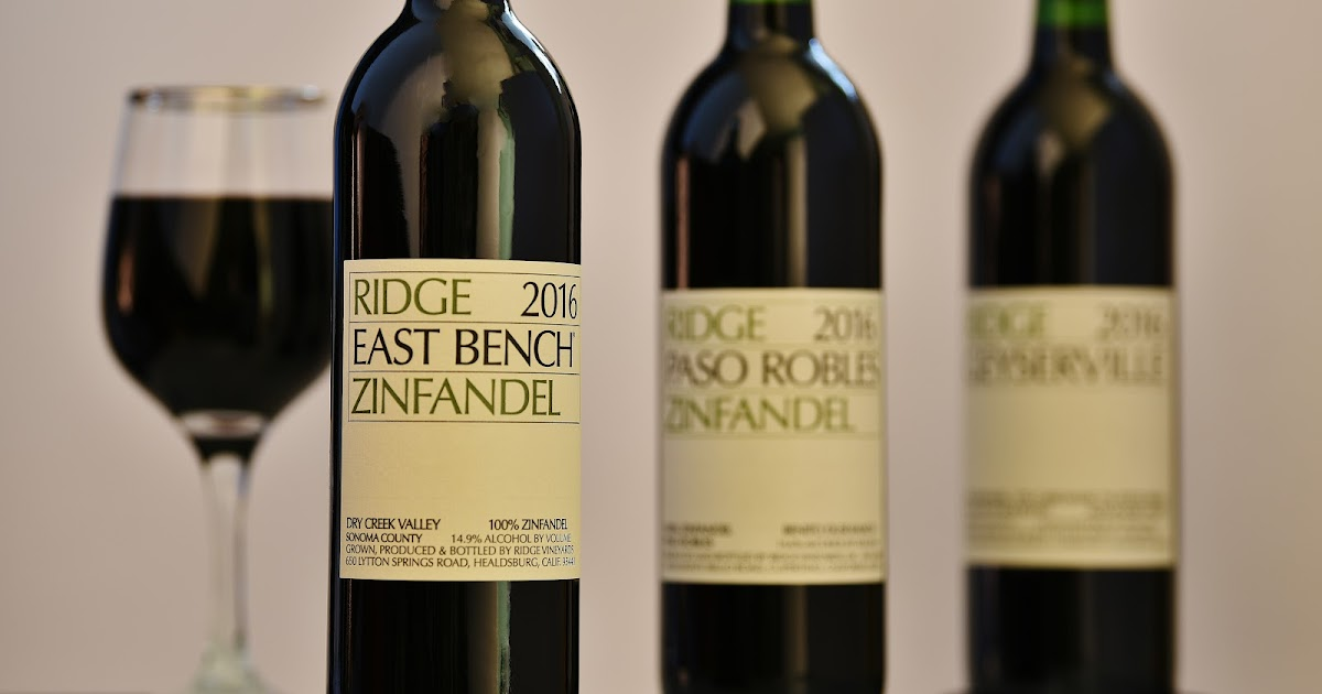 New Hampshire Wine Man Ridge East Bench 2016 Zinfandel