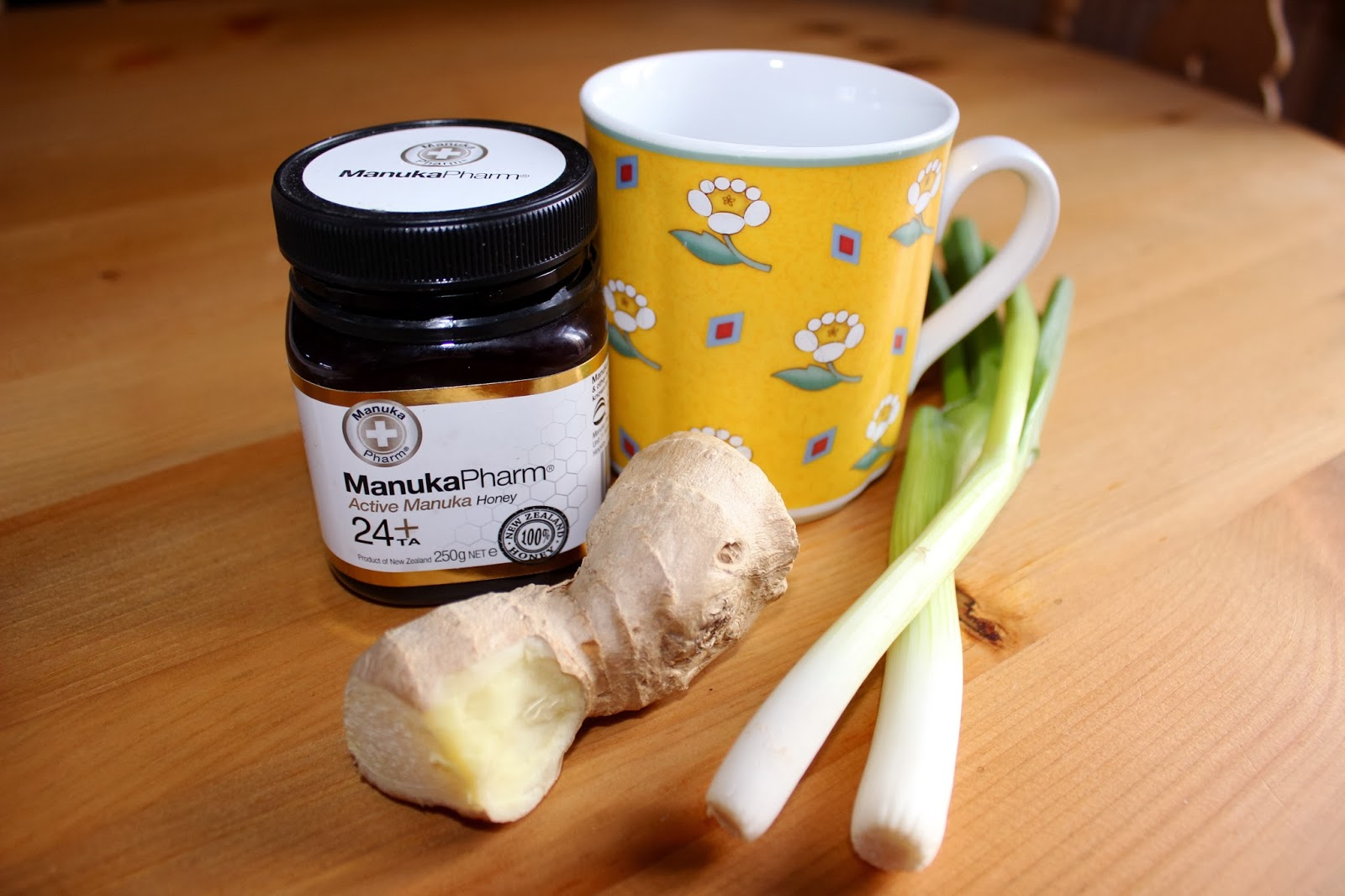 TCM Traditional Chinese Medicine Manuka Honey Ginger Spring Onion Drink Cold Remedy